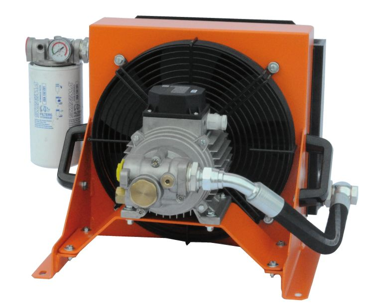 GA Series - Automatic Cooling System - Heat Exchanger