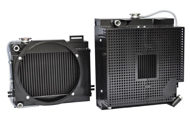 RA Series - WATER/AIR heat exchangers - Heat Exchanger